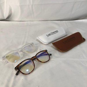 Set of 2 Blue Light Blocking Reading Glasses